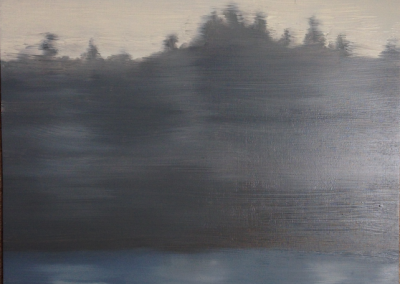 deborah lawrence schafer, maine art, fog series, coastal maine, fine art