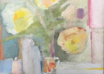 maja paumgarten, still life, flowers, painting, maine artist, fine art, contemporary still life