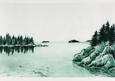 The Reach, etching