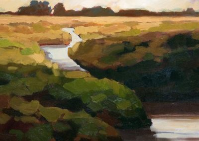 anne holt, maine art, maine landscape, fine art, great marsh