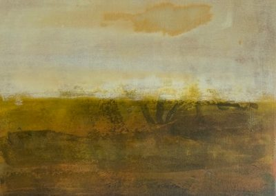 Maggie Hunt, Maine artist, Maine art, abstract, ethereal, abstract landscape, hope springs