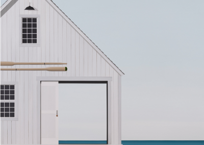 francis lipari, flipari, maine art, coastal cottage, shore house, looking through, architecture, detail, atlantic, revealed