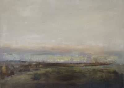 Maggie Hunt, Maine artist, Maine art, abstract, ethereal, abstract landscape, island