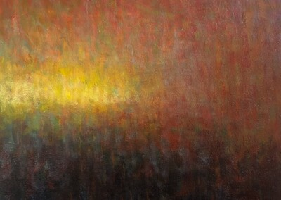 Lyle Salmi, contemporary art, abstract, reflection, fall