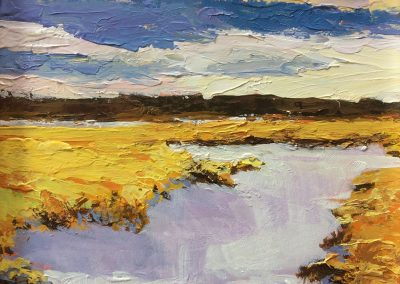 Susan Ferro, maine artist, landscape, small and mighty, time out