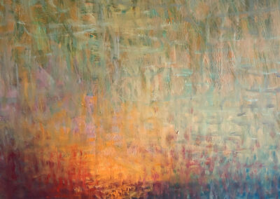 Lyle Salmi, contemporary art, abstract, reflection, daybreak