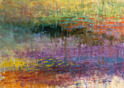 Lyle Salmi, contemporary art, reflection, fine art abstract, squall